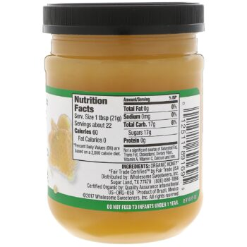 wholesome spreadable organic raw unfiltered honey