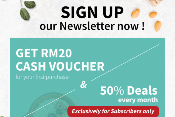 Enjoy Special Privilege by Subscribing Love Earth Newsletter